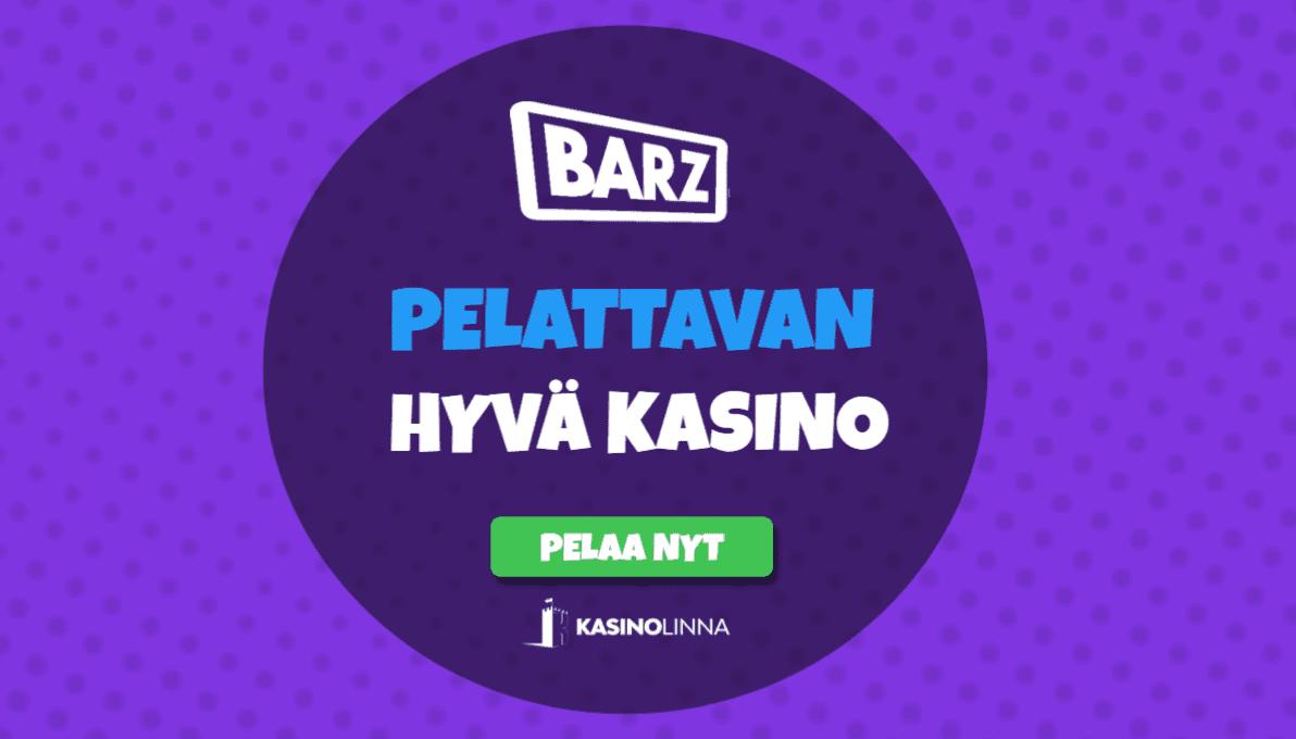 Barz Kasinolta löydät yli 1000 peliä