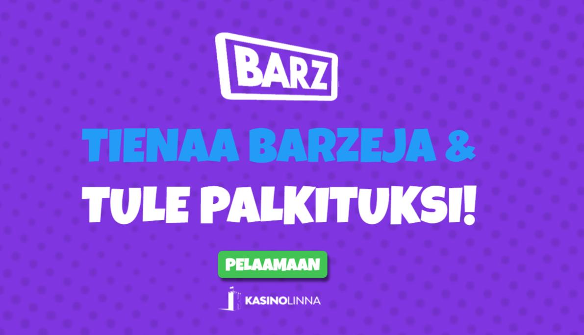 Barz palkitsee pelaajat
