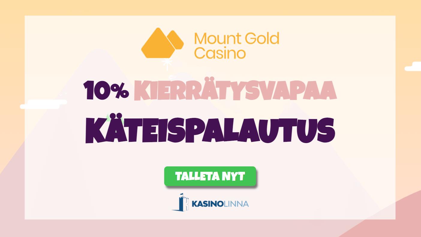 mountgold kierrätysvapaa käteispalautus
