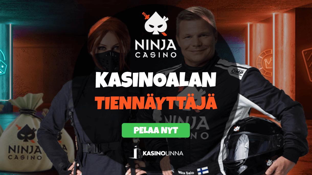 ninja casino arvostelu