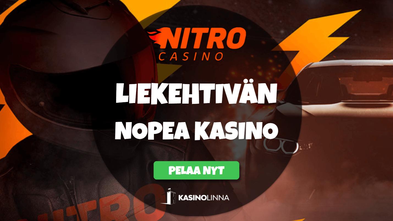 nitro casino arvostelu ja kokemuksia